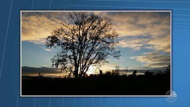 Confira a previsão do tempo desta quarta-feira (19); veja também as fotos do amanhecer - Saiba como fica o tempo no estado.