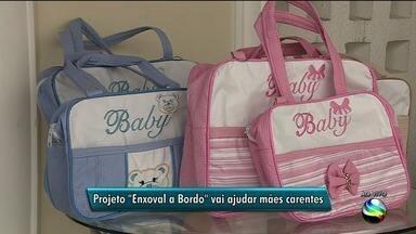 """Projeto """"Enxoval a Bordo"""" vai ajudar mães carentes - Projeto """"Enxoval a Bordo"""" vai ajudar mães carentes."""