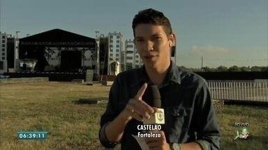 Começa o hoje o festival halleluya em Fortaleza - Saiba mais em g1.com.br/ce