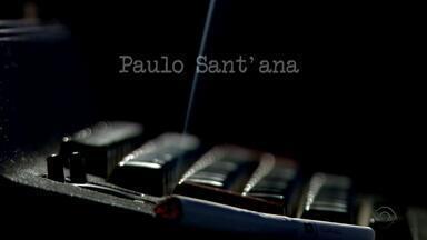 Jornal do Almoço relembra momentos marcantes de Paulo Sant`Ana em homenagem - Assista ao vídeo.