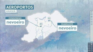 Confira a previsão do tempo para a sexta-feira (21) em São Paulo - O dia pode começar com nevoeiro. Depois que a névoa baixar, vem o sol. A umidade deve cair, principalmente no interior.