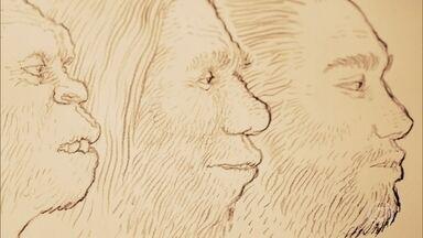 """Conheça um pouco de """"Sapiens - Uma Breve História da Humanidade"""" - Pedro Bial viaja a Israel para conversar com o autor da obra, o historiador Yuval Noah Harari. O renomado quadrinista brasileiro Rafael Grampá ilustra a apresentação"""