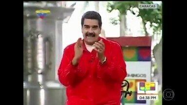 """Presidente da Venezuela cria versão """"chavista"""" de Despacito - Nicolás Maduro usou o hit latino para que a população venezuelana vote a seu favor na Assembleia Constituinte."""