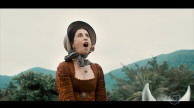 Benditos Calores - Maria Teresa sente uma estranha euforia ao cavalgar e a família se assusta com sua mudança de comportamento.