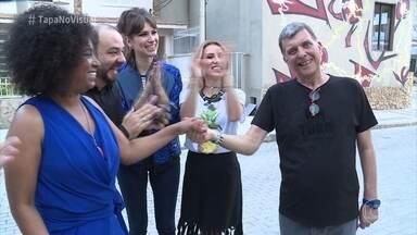 Tatiana ganha surpresa e atua ao lado de Gabriel Louchard - Cena foi dirigida por Jorge Fernando, no primeiro trabalho do diretor após o AVC
