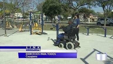 Caçapava recebe academia inclusiva - Deficientes físicos agora tem espaço para fazer ginástica.