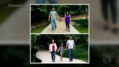 Casal faz ensaio fotográfico para comemorar adoção - Priscilla e Elias levaram oito meses no processo de adoção e, por isso, tiveram a ideia de fazer um book para registrar a espera