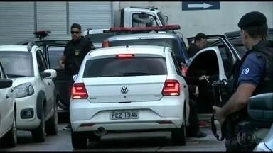 Cinco são presos suspeitos de envolvimento no assalto à Brinks - Operação contra a quadrilha foi realizada nesta terça-feira (1º).