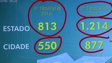 Mais de 1, 2 milhão de pessoas estão desempregadas no estado do Rio, segundo o IBGE - A crise econômica aumentou o número de desempregados no estado. Segundo o IBGE, no segundo semestre deste ano chegou a 1,2 milhão contra 813 mil no primeiro trimestre de 2016.