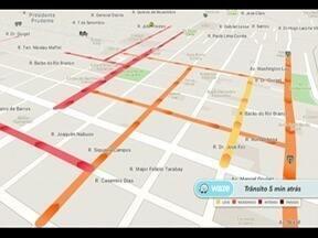 Confira como está o trânsito em Presidente Prudente nesta terça-feira - Saiba quais são as vias mais movimentadas.