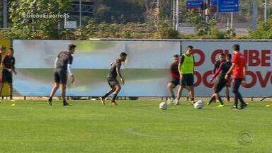 Com Camilo e Damião, Inter recebe Goiás para engrenar de vez e aliviar a pressão - Com estreantes como atração, Colorado busca vitória sobre time de Argel Fucks.