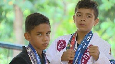 Pequenos também terão vez na Copa Pódio de Jiu-jítsu - Competição será no dia 12 de agosto, no Ginásio Poliesportivo do Amazonas.