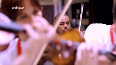 Orquestra da Maré conta como foi tocar para o Papa Francisco - Grupo de músicos visitou Roma