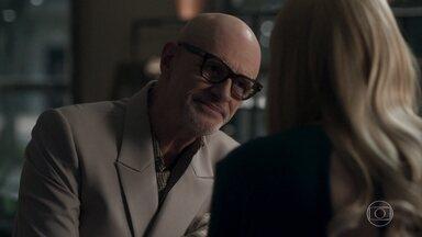 Pedrinho confessa a Rúbia que sabia que ela era drag - O ex-milionário diz que manteve contato com Rúbia por causa de Luíza e também para aproveitar os conselhos que ela costumava lhe dar sobre a vida
