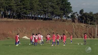 Após demissão de Jorginho, Bahia faz treino sob o comando de auxiliar técnico - Time se prepara para enfrentar a Chapecoense na quarta-feira (2).