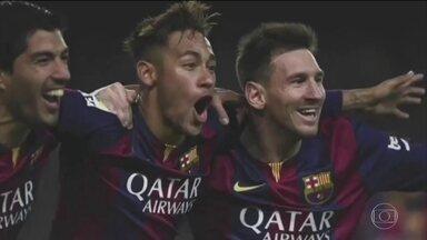 Confira o vídeo que Messi postou em homenagem a parceria com Neymar - Confira o vídeo que Messi postou em homenagem a parceria com Neymar