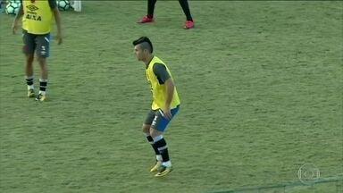 No Vasco, Wagner treina e deve jogar partida contra o Cruzeiro - No Vasco, Wagner treina e deve jogar partida contra o Cruzeiro