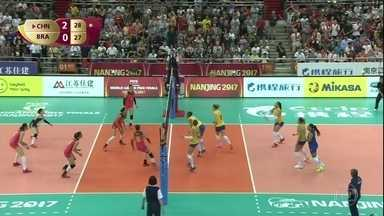 Seleção brasileira feminina de vôlei perde da China na abertura das finais do Grand Prix - Seleção brasileira feminina de vôlei perde da China na abertura das finais do Grand Prix