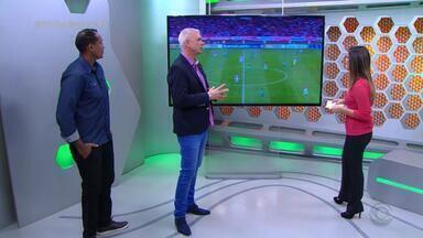 Maurício Saraiva classifica Inter como 'renovado' na vitória diante do Goiás - Comentarista se anima com o desempenho colorado e acredita que time vai 'embalar'.