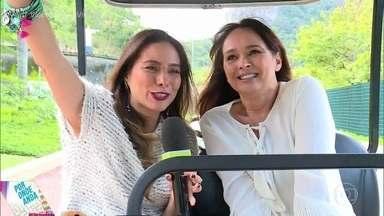 Saiba por onde anda Myriam Rios - Atriz relembra suas participações no 'Vídeo Show' nos anos 80 e revela como conheceu o rei Roberto Carlos