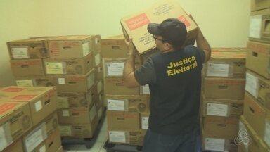 TRE em Manacapuru, no AM, faz últimos ajustes para eleição - Mais de 200 sessões vão funcionar na cidade