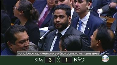 Veja como votaram os deputados do estado de Roraima - Veja como votaram os deputados do estado de Roraima.