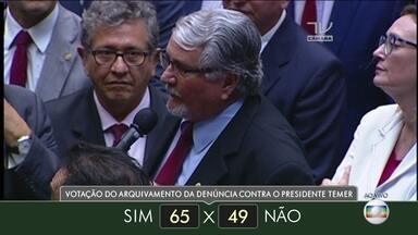 Veja como votaram os deputados do estado do Mato Grosso do Sul - Veja como votaram os deputados do estado do Mato Grosso do Sul
