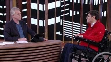 Rodrigo Mendes comenta superação no esporte - Empresário defende a importância da superação coletiva de preconceitos