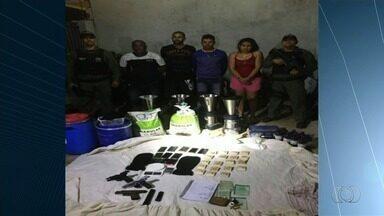 Polícia fecha laboratório de droga em Anápolis - Segundo a corporação, chefe do grupo morreu durante confronto.