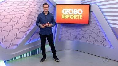 Confira o Globo Esporte desta quinta (03/08) - Programa fala de futebol, destaque para a apresentação de Ailton Silva no Confiança. Tem ainda a história de um médico veterinário que disputa competições de triatlhon.