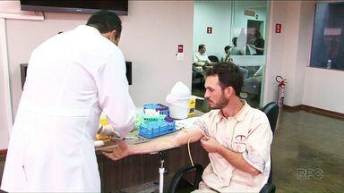 Empresa de Cianorte abre as portas para funcionários doarem medula - A empresa incentiva a doação de sangue entre os funcionários, e permite a coleta no local.