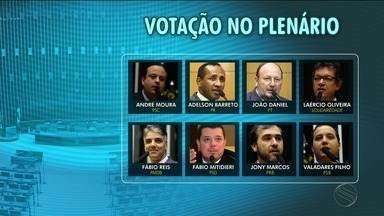 Veja como os deputados de Sergipe votaram a rejeição da denúncia contra Temer - Veja como os deputados de Sergipe votaram a rejeição da denúncia contra Temer.