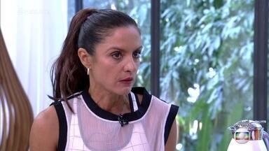 Fernanda Keller comenta as características dos participantes do 'Rumo ao Ápice' - Triatleta explica como atua no treinamento dos participantes do quadro do 'Esporte Espetacular'