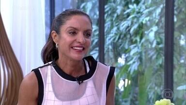 Fernanda Keller recebe mensagens de competidores do 'Rumo ao Ápice' - Atleta se emociona com os depoimentos