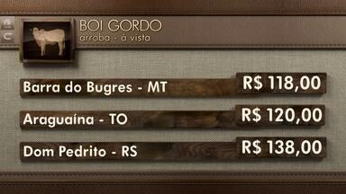 Globo Rural: cotações - Confira como fecharam os valores dos principais produtos agrícolas.