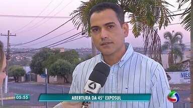 Começa a programação da Exposul, em Rondonópolis - Começa a programação da Exposul, em Rondonópolis.