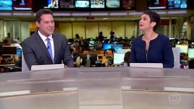 Jornal Hoje dá as boas-vindas a Dony de Nuccio - Novo apresentador começou como repórter do Jornal da Globo, passou pelo Bom Dia São Paulo e SPTV.
