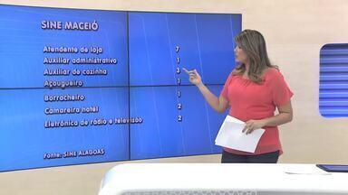 Confira vagas de emprego disponíveis no Sine da capital e do interior de Alagoas - Boa oportunidade para quem deseja ingressar no mercado de trabalho.