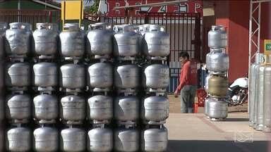 Preço do gás de cozinha em Balsas é o mais caro do Maranhão - Diferença de preço do botijão de 13 kg em relação a capital é de quase 30 reais.