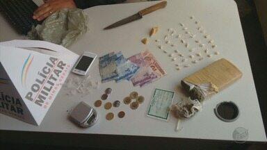 Suspeitos são presos por tráfico de drogas em seis bairros de Varginha, MG - Suspeitos são presos por tráfico de drogas em seis bairros de Varginha, MG