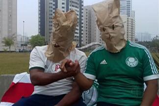 Resenha: garotinhos comentam derrota do Palmeiras na Libertadores - Time perdeu para o Barcelona do Equador na partida de quarta-feira (9).
