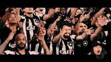 Confira vídeo motivacional com jogadores do Botafogo e torcedores - Confira vídeo motivacional com jogadores do Botafogo e torcedores
