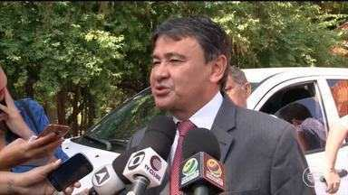 Governador fala sobre nova delegacia e outras mudanças na área da segurança - Governador fala sobre nova delegacia e outras mudanças na área da segurança