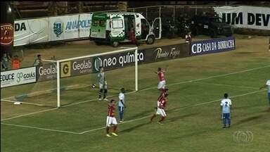 Grêmio Anápolis segura Anapolina e fica a um empate do título da Divisão de Acesso - Equipes empatam por 1 a 1 no primeiro confronto da decisão