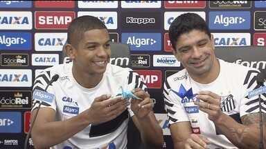 Santos e Atlético-PR se enfrentam em duelo decisivo - Peixe tem a vantagem
