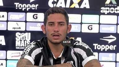 Ceará apresenta reforço Leandro Carvalho - Confira as novidades do Alvinegro