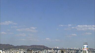 Belo Horizonte tem novo recorde de calor deste inverno - Máxima chegou aos 32,1ºC.