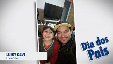 """Vejas as fotos que foram enviadas para o Paraná TV, para comemorar o Dia dos Pais - Telespectadores enviaram as fotos pelo aplicativo """"Você na RPC""""."""