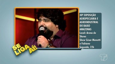'Se Liga Aí' mostra dicas e opções de eventos em Santarém e região - Quadro do JT TV apresenta dicas de eventos, shows, eventos religiosos, passeios, entre outros.