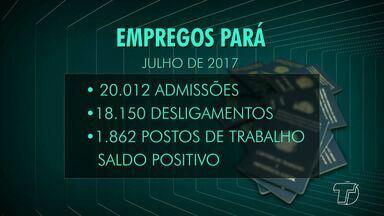 Número de emprego formal no Pará volta a apresentar saldo positivo, diz Dieese - Os setores construção civil, serviço e indústria estão no topo de empregos.